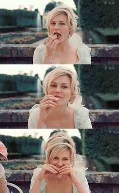 Kirsten Dunst in Marie Antoinette. #perfection