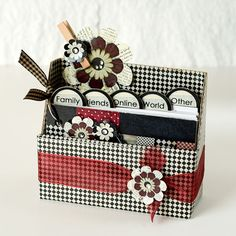 Cute homemade box for prayers or scripture. includes instructions how to make the box!