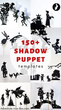 Puppet Templates A big collection of shadow puppet templates to print and make – setting up a shadow play at home will be easy and fun!A big collection of shadow puppet templates to print and make – setting up a shadow play at home will be easy and fun!