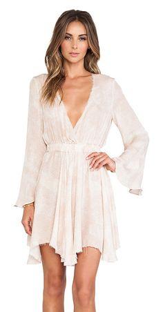 LOVESHACKFANCY Long sleeve mini dress found on Nudevotion