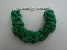 Collane corte - Collana tricotin / Tricotin necklace - un prodotto unico di BULAN-ROAD su DaWanda