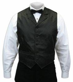 Victorian Drake Vest - Black