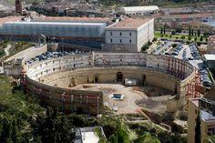 Anfiteatro romano de Cartagena. Murcia. Spain, Excavaciones arqueológicas*