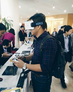 An awesome Virtual Reality pic! Checking out the tech startup ecosystem in Vietnam #flashbackfriday . . . . #igdaily #instalikes #instadaily #photography #tech #entrepreneur #entrepreneurlife #travel #travelgram #wanderlust #vscocam #cafefinds #hustle #hustler #startup #investor #entrepreneurship #hochiminh #vietnam #virtualreality #lennisetravels by lennise01 check us out: http://bit.ly/1KyLetq