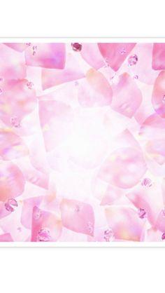 Pink ice pattern