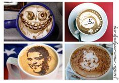wzory na kawie