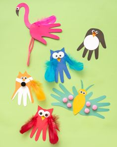 Animal Crafts For Kids, Summer Crafts For Kids, Art Activities For Kindergarten, Spring Crafts For Preschoolers, Spring Toddler Crafts, Toddler Arts And Crafts, Bird Crafts, Butterfly Crafts, Cute Crafts