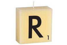 """R"" Scrabble Letter"