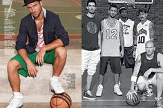 Sophisticated Street Fashion – A Basketball Story In The First Issue Of GQ Style Brazil Gq Style, Style Me, Sport Editorial, Editorial Fashion, Street Basketball, Brazil, Mens Fashion, Street Fashion, Sportswear