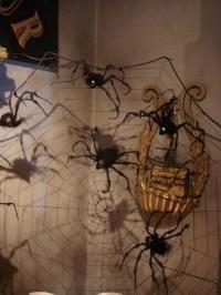 Skull head spiders
