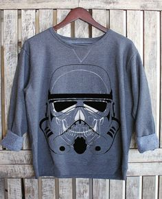 Hey, I found this really awesome Etsy listing at https://www.etsy.com/listing/220464510/storm-trooper-skeleton-skull-crewneck