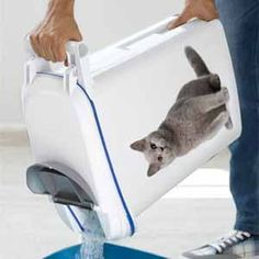 Image for Curver Cat Litter Storage Container (Online Only) from Pets At Home