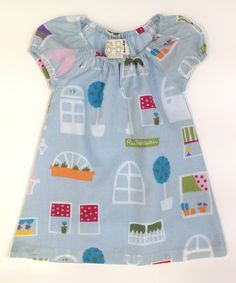 This Blue Troussau Gathered Swing Dress - Infant, Toddler & Girls by Lourdes is perfect! #zulilyfinds
