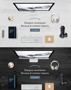 CM - Hero mockup - Designer workspace 491864