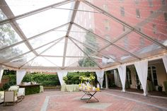 June Rehearsal Dinner  #DCwedding #Yellow Photo by Paul Morse Photography Amazing Clear Top tent - Sugarplum Tent