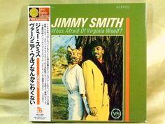 CD/Japan- JIMMY SMITH Who's Afraid Of Virginia Woolf? w/OBI RARE MINI-LP OOP #HardBop