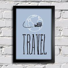 Poster Travel — www.encadreeposters.com.br