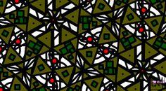 Title  The Mess Behind It  Artist  Elizabeth McTaggart  Medium  Digital Art - Digital Art #tessellations #fun #cards
