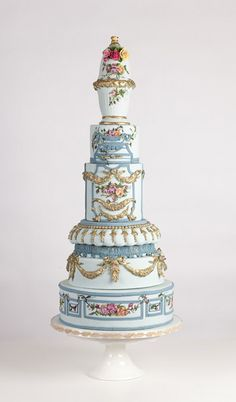 Nadia & Co. Art & Pastry | Cake Design | Old Country Rose | Contemporary Cakes