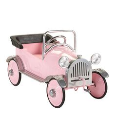 Pink Princess Pedal Car Ride-On by Airflow