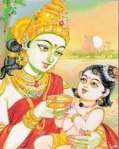 Bhagavata Purana, Kerala Mural Painting, India Art, Krishna Art, Divine Feminine, Hinduism, Pretty Face, Princess Zelda, The Incredibles