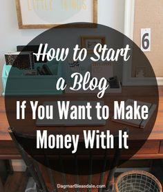 starting a blog the right way, and a code for 30% off HostGator web hosting. Dagmar's Home. DagmarBleasdale.com #sponsored #blogging #Snappypreneur