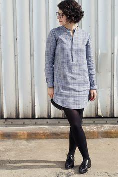 f2b09598b81 Die schönsten Schnittmuster für selbstgenähte Blusenkleider und Blusen