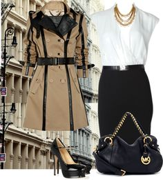 """Hardly Working"" by kl1ve on Polyvore"