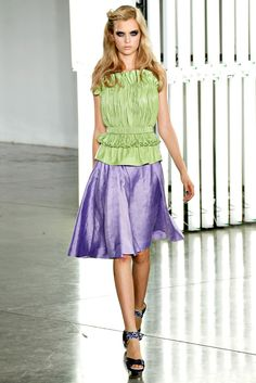 Rodarte Spring 2012 Ready-to-Wear Fashion Show - Josephine Skriver