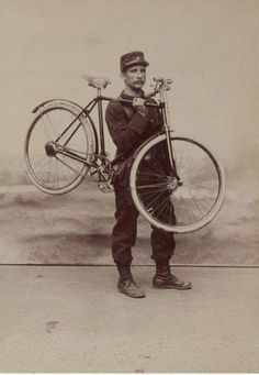 French Folding Bicycle Which A Frog Made In 1896