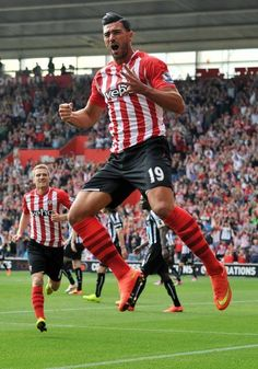 Graziano Pelle of Southampton Saints, striker.