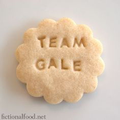 It's funny because it's a cookie (I think) Bahahahahahhahahahahahaha this is WAY funnier then it should be. I'm sorry.  Team Peeta forever!