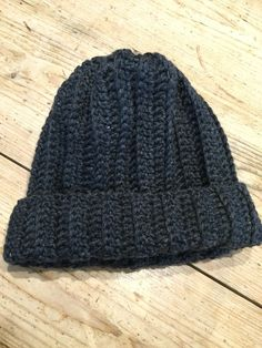 Crochet Club: the Man Hat on the LoveCrochet blog...made as a tube, then cinched a top. Uses British terms