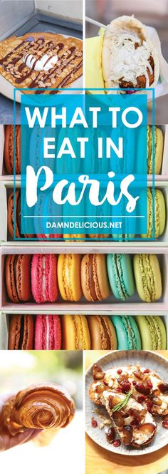 What to Eat in Paris - The 10 BEST places to eat in Paris - eats you absolutely cannot miss (and what you can also skip!). The ultimate foodie guide here!