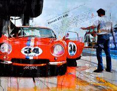 Markus Haub Ferrari 275 GTB Edition auf Leinwand 70 x 90 cm ab 320,00 €