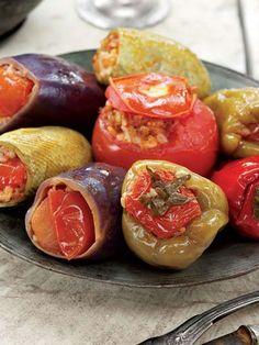 Etli karışık yaz dolması Tarifi - Türk Mutfağı Yemekleri - Yemek Tarifleri