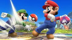 Luigi & Mario - Super Smash Bros. Wii U