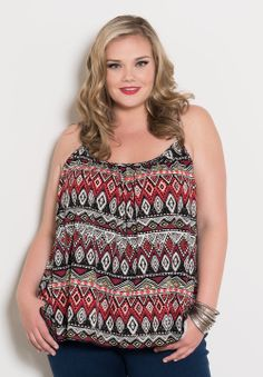 Share for 15% off your purchase! Printed Cami