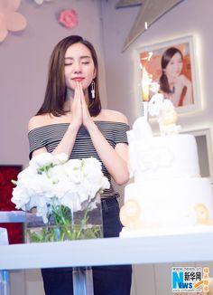 Liu Shishi celebrates birthday   China Entertainment News