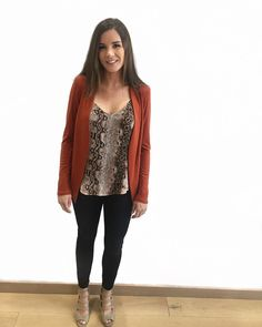 Hello Fall       #MyBottega #shopsatshilohcrossing #style #fashion #chic #ootd #ootn #simple #classic #Weekend #Sunday #weekendvibes #shop #confidence #beautiful #shoplocal #new #stylist #shopping #personalstylist #fall #fallvibes #september #tgif #blazer #orange #denim #jeans #patterns