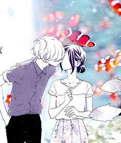 ✨ Anime ×Collage ×Shoujo ×Manga ×Couples ×Kiss ×Hirunaka no Ryuusei