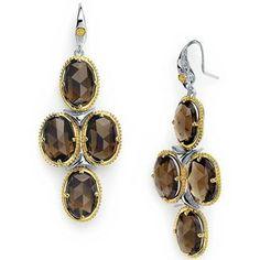 Chandelier Earrings | JR Dunn Jewelers | #Fashion #Quartz #Tacori