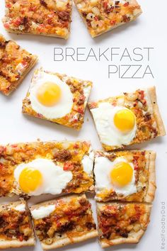Breakfast Pizza via Real Food by Dad  -  pizza crust, sausage links crumbled, hashbrowns, potatoes, cheese, salsa, eggs.  balanced, frugal, healthy, adjust prn.   lj