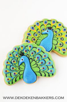 Peacock cookies | Flickr - Photo Sharing!