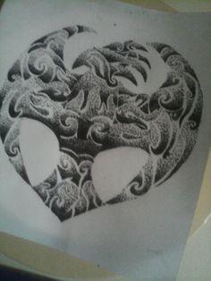 Maori tattoo 9,5