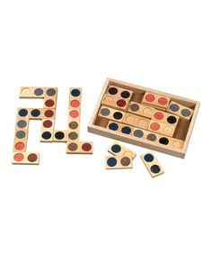 This Texture Dominoes is perfect! #zulilyfinds
