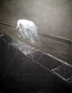 Francis Bacon: Study for a Running Dog, 1954. Smithsonian National Art Gallery - East Wing, Washington, D. C.