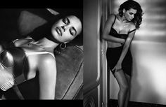 Adriana Lima for Vogue Spain June 2010 by Vincent Peters