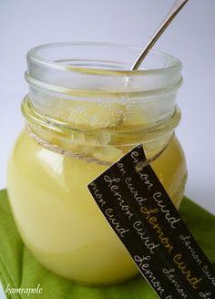 Lemon curd - a tojás nélküli citromkrém