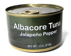 Solid white chunk albacore with zesty jalapeno peppers. Mild/Medium heat. USA line caught and sustainable. Canned on the Oregon Coast.